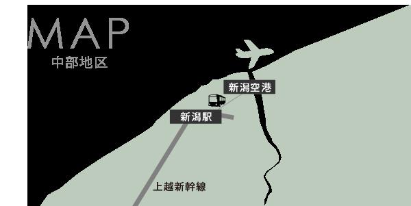 中部エリアマップ