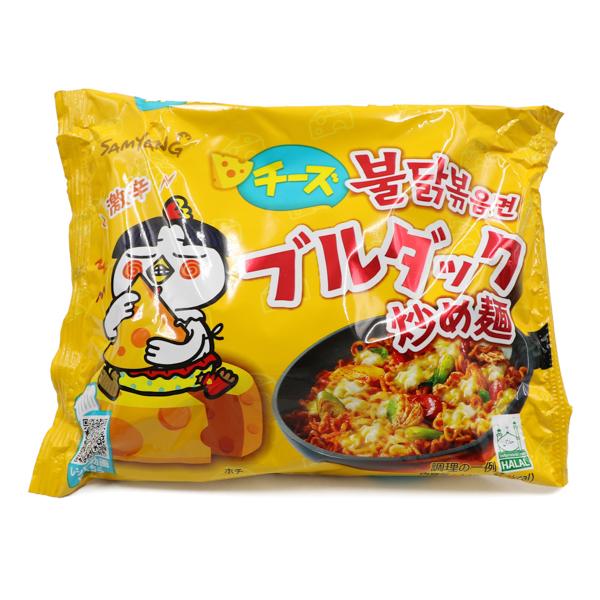 三養 チーズブルダック炒め麺 140g